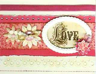 Card - Love stamp