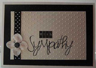 Card - sympathy