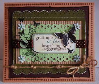 Card - Gratitute