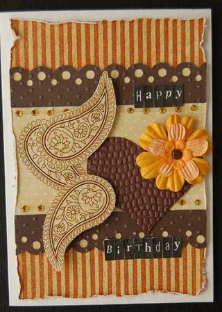Card - happy birthday #1