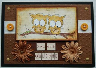Card - owlsome