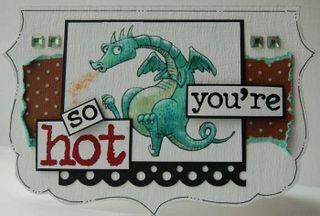 Card - hot
