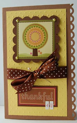 Card - thankful