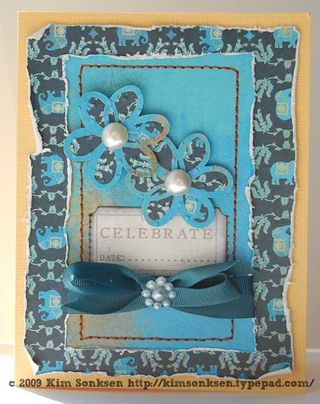 Card - celebrate