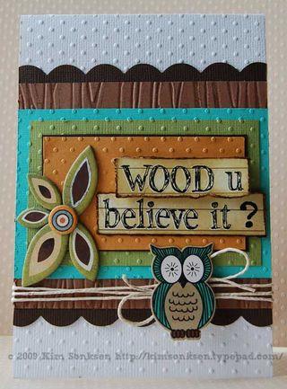Card - Wood