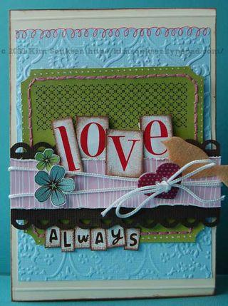 Card - love